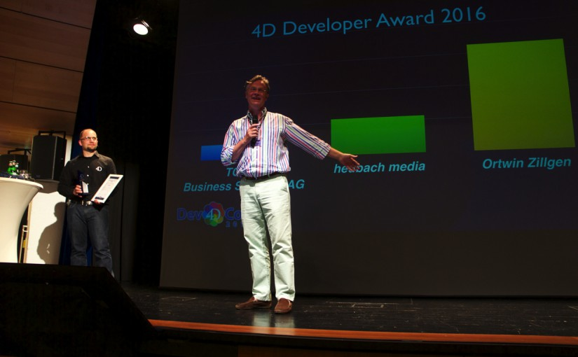4D Developer Award 2016